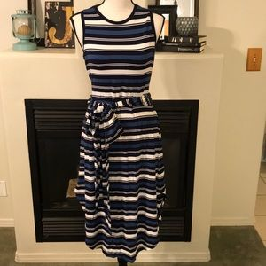 Size M - Gap Striped Tank Top Dress - Comfortable!